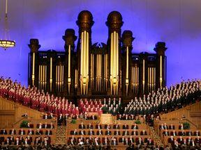 The Salt Lake Mormon Temple in Utah