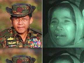 A UN report says General Min Aung Hlaing must be investigated over Rohingya abuse