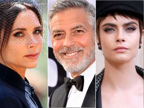 Victoria Beckham, Cara Delevingne, and George Clooney