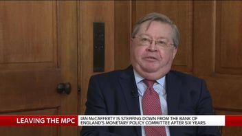 Ian McCafferty, outgoing member of the Bank of England's Monetary Policy Committee