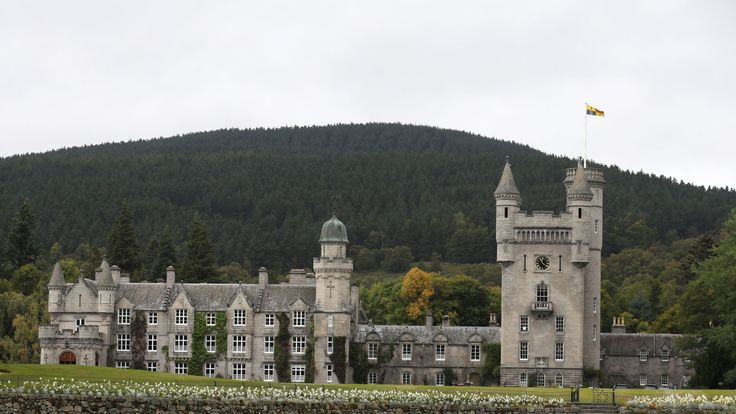The Queen spends her summer holiday at Balmoral