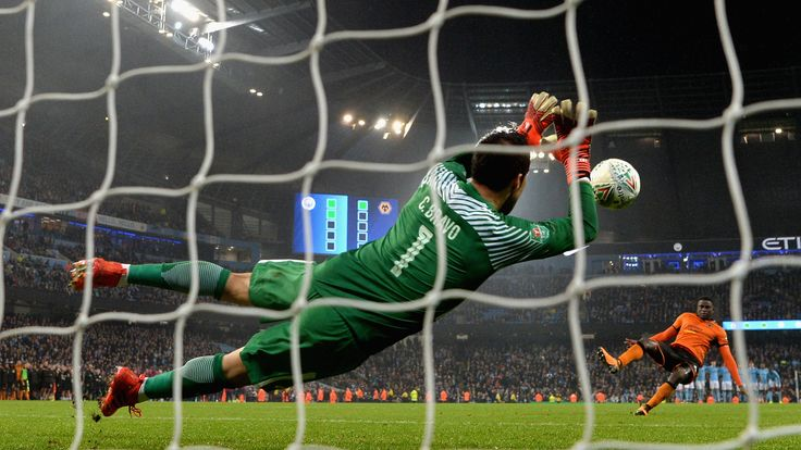 Penalty shootouts will usurp extra time in the Carabao Cup this year