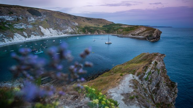 Lewis Pugh started out at Lulworth Cove