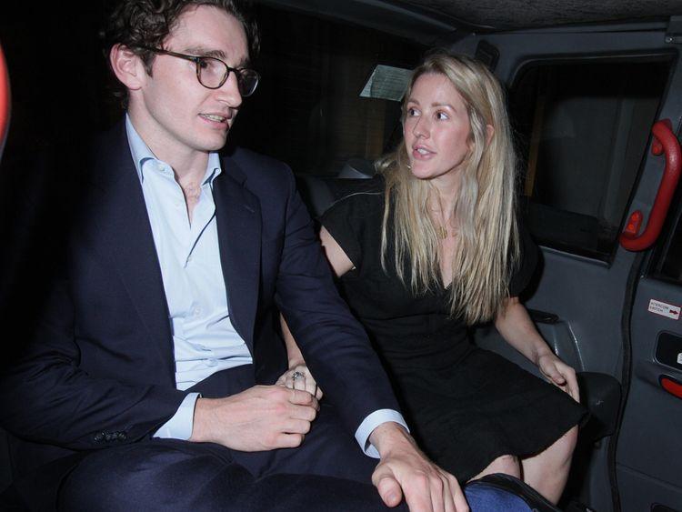 Caspar Jopling and Ellie Goulding