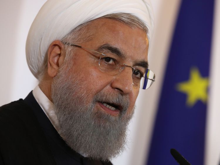 President Rouhani has dismissed calls for talks with the US