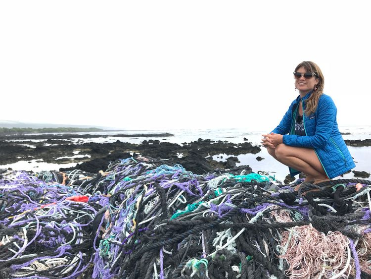 Sarah-Jeanne Royer said the research proves less plastic should be used