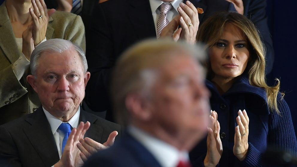 Donald Trump has had a difficult relationship with Jeff Sessions during his presidency