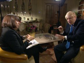 Boris Johnson said he thinks the EU will eventually go for Chequers, even though he does not support it