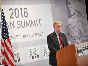 John Bolton issued a stern warning to Iran