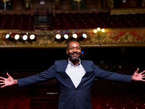 Lenny Henry attends a photocall for 'Rudy's Rare Records' at Hackney Empire on June 23, 2014 in London, England