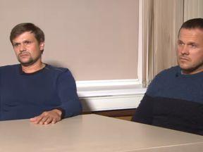 Novichok suspects. Pic: Russia Today