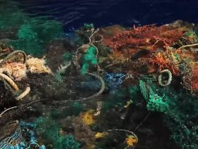 Most plastic in the ocean is not visible on the surface