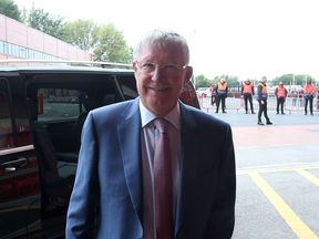Sir Alex is returning to Old Trafford for the first time since his emergency surgery