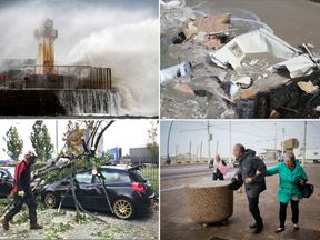 Ireland, northern Ireland, Scotland and northeast England was hit hard by Storm Ali