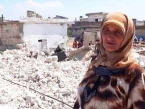 Haleem Tamro's two children were killed in airstrikes