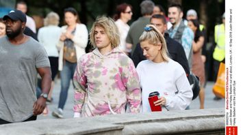 It seems Justin Bieber and Hailey Baldwin haven't tied the knot... yet. Pic: Rex