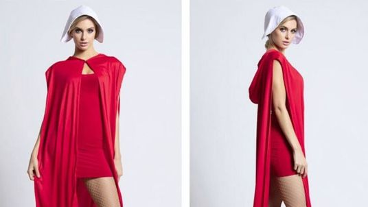 """Yandy was condemned for selling a sexualised """"Handmaid's Tale"""" outfit for Halloween. Pic: Yandy.com"""