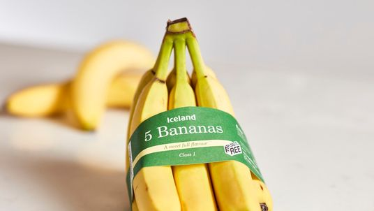 Iceland's pre-packaged bananas will no longer be wrapped in plastic