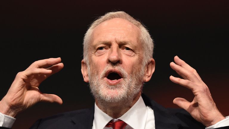Jeremy Corbyn will tell Michel Barnier there cannot be a no deal Brexit