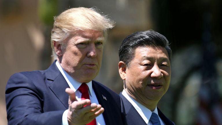 Donald Trump has promised further tariffs on China if it retaliates
