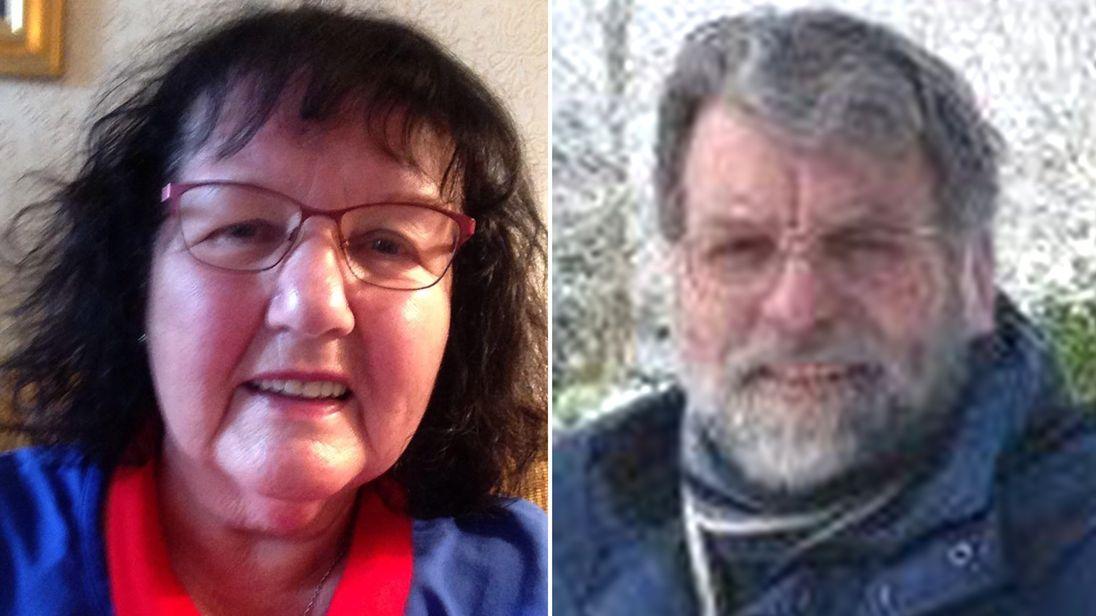 Delia and Antony Green