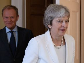 Donald Tusk has asked for 'concrete proposals' from Theresa May