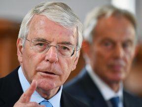 Sir John Major rebuked 'princelings fighting for the political crown of premiership'