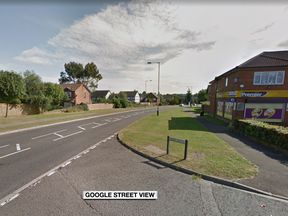 The collision happened on the northern end of White Horse Vale, close to the junction with Kirby Drive