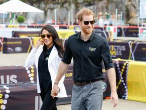 Harry and Meghan are visiting Australia on behalf of the Queen