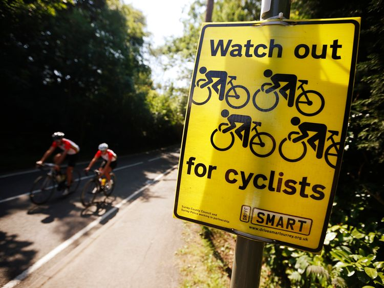 101 cyclists were killed last year in the UK