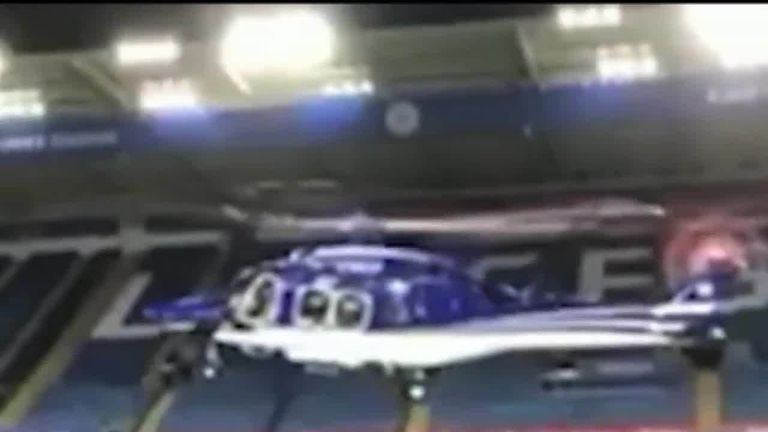 Air investigator talks through what is happening in footage of the Leicester City owner's helicopter moments before the crash.