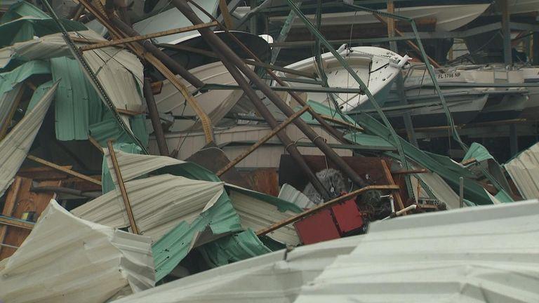 Panama City, Florida, after Hurricane Michael
