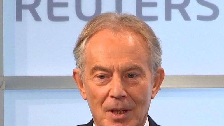 Tony Blair discusses the complicated situation with Northern Ireland and Brexit