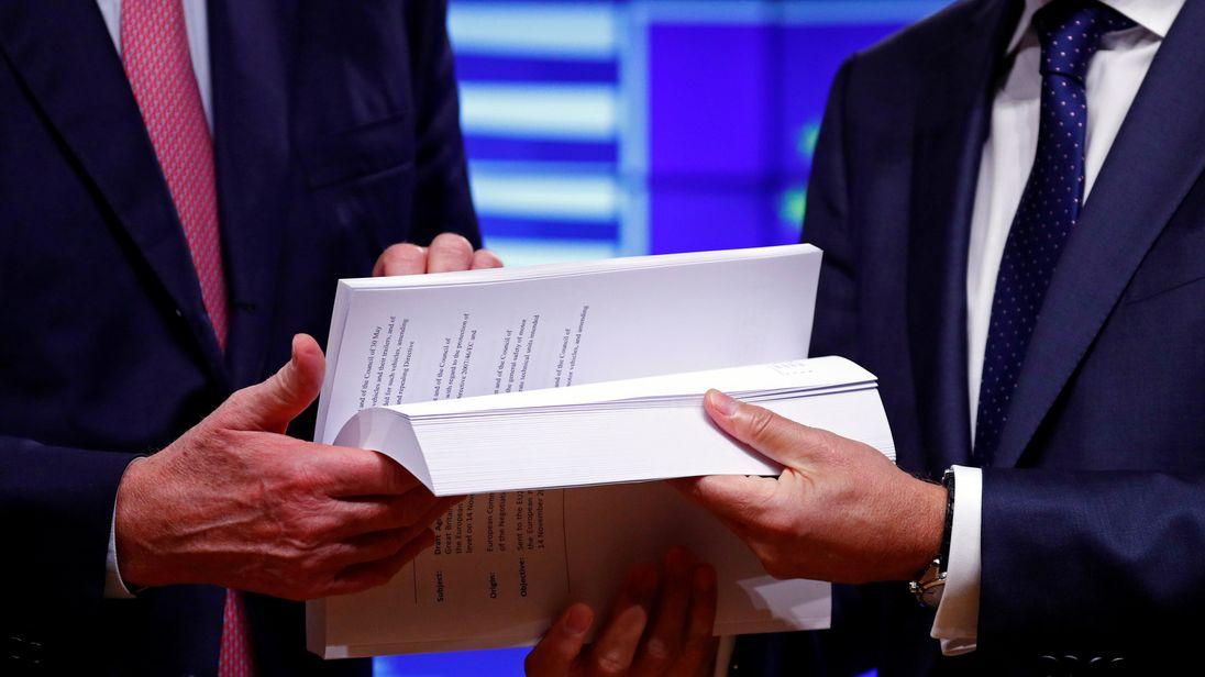 Brexit draft agreement