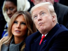 Melania Trump is very guarded but occasionally speaks out to stick up for her husband's choices