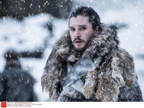 Kit Harington as Jon Snow in Game Of Thrones 2017. Pic: HBO/Kobal/REX/Shutterstock