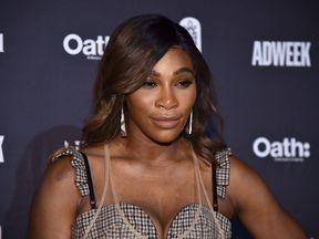 Serena Williams at Cipriani 25 Broadway on November 7, 2018 in New York City.