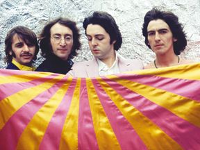 The Beatles pictured in London in 1968. Pic: Apple Corps Ltd