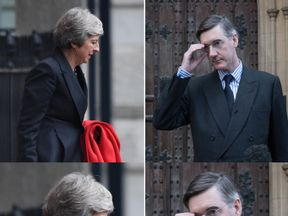 Theresa May is under threat after Jacob Rees-Mogg submitted a letter of no confidence