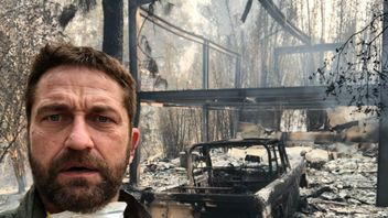 Gerard Butler tweeted this photo of his destroyed Malibu home