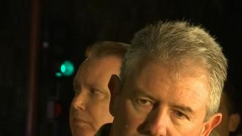 Ventura County Sheriff Geoff Dean gives a news conference following a fatal shooting in California