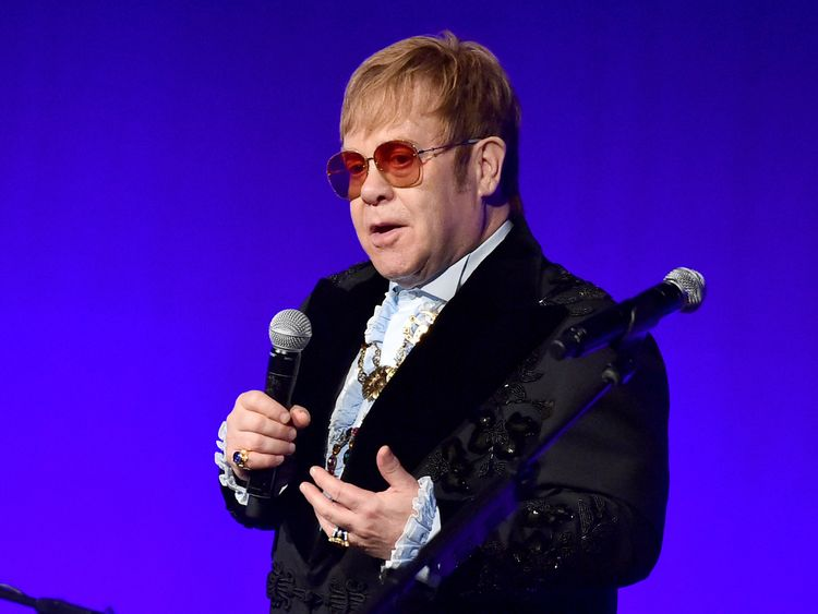 The Elton John AIDS Foundation's 17th annual An Enduring Vision Benefit at Cipriani 42nd Street on November 5, 2018 in New York City.