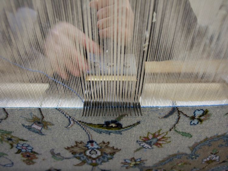 Importing Iranian-made Persian carpets has been banned in the US since August