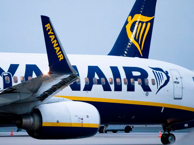 Ryanair have dismissed six workers over a 'fake' photo