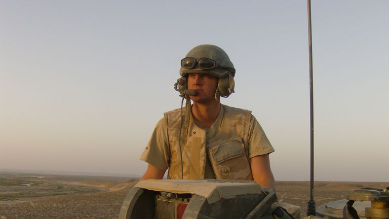 Liam Young served tours in Iraq and Afghanistan