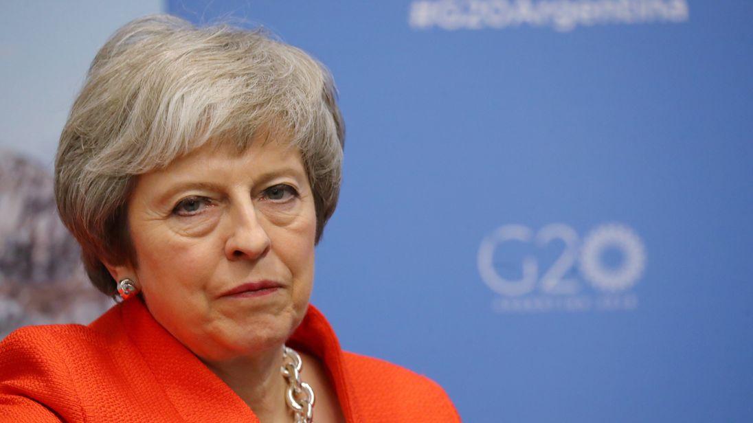 Theresa May might soon be facing a no-confidence vote