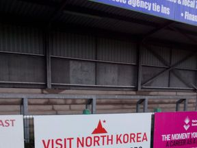 Visit Korea are advertising Pic: Mark Scott