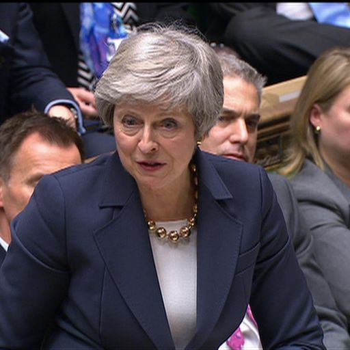 A bruising day for May's Brexit vision
