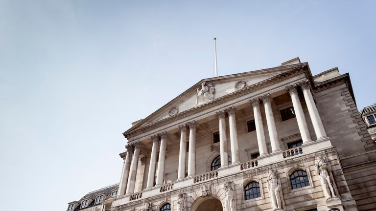 The Bank of England is currently is forecasting growth of 1.7% for the next two years