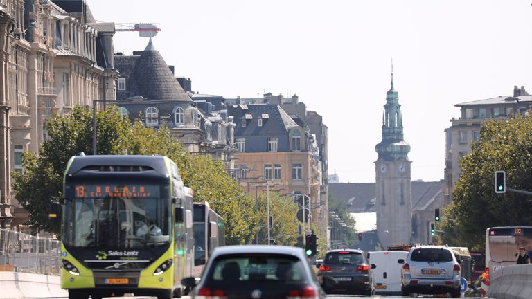 Buses in Luxembourg